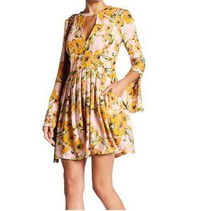 Free People 'Tegan' Printed Mini Dress (12)